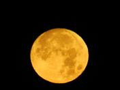 Snow Moon from Vero Beach