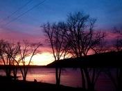 Ohio River Sunset