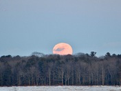 Full Snow Moon Rising