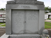 Louis Prima Family Tomb