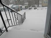 Snow fall in Billerica