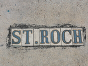 St. Roch Street Name Tiles
