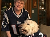 Karen and Mollie love Tom Brady