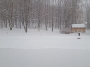 Feb2017 winter storm in Middletown Springs, Vermont