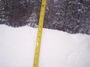 snow in jeffersonville vt 6:30 am 2/13/17