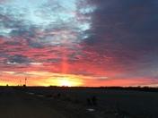 Good morning from Scribner, Nebraska photo by Dayle Wisnieski