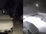 Groton MA Snowstorm Time-lapse
