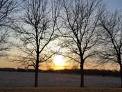 Valentine sunrise
