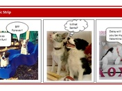 Demo and Daisy's Valentine Day Comic Strip