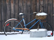 Old Bike in Winter