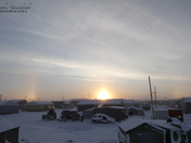Early morning sunrise in Arviat
