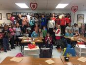 Valentine's Day in Mrs. Diana Pearson's 5th grade classroom