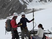 glacier borehole drilling