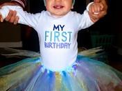 First Birthday February 26 2017