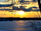 Canobie Lake sunset