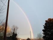 Rainbow over Wilkesboro