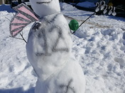 Snowman contest hudson nh