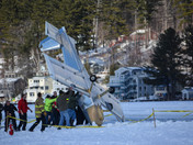 Plane crash in Alton Bay