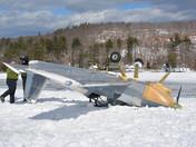 Plane crash in Alton Bay