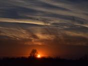 Sunset, Sunday, February 19, 2017