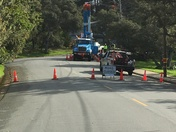 PG&E hard at work