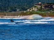 Monastery Beach Ocean Rainbow