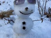 Sunny Snowman