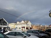 Rainbow over Wolfeboro!!