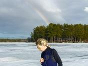 Rainbow on the Lake Winni