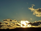 Another beautiful sunset in Alleghany County...