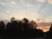 County sunset