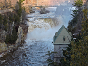 Ausable Chasm, NY  26 Feb 2017