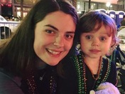 Mardi Gras with my daughter!