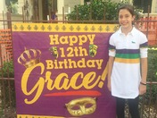 Grace Pecoraro Mardi Gras birthday
