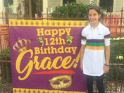 Grace Pecoraro Mardi Gras day birthday!!!