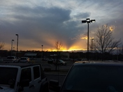 Sunset Before The Storm