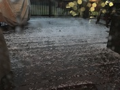 Hail in Morrow, OH