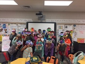 Mardi Gras Artwork-Mrs. Basanda's Fifth Grade-Monarch Elementary