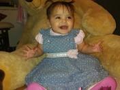 Christiana Ernestine Dimas 1st Birthday