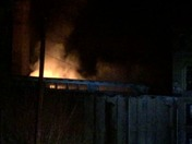 Newry, SC mill on fire