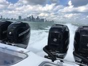 Miami from sea