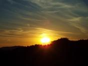Yesterday's sunset..