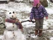 Sloan Moulder First snowman
