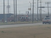 Grass fire near nw 10th and Morgan rd