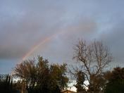 Rainbow over Davis