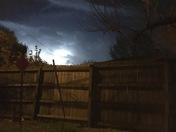 Tons of lightning !!!! Very pretty!