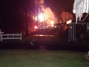 Saxonburg blvd house fire