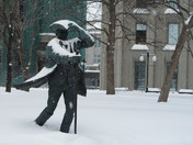 James McGill in a Snowstorm