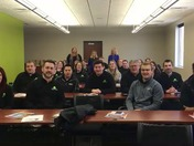 Leadership Fort Dodge Class Wake Up Call
