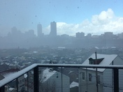 Partly snowy, partly sunny today...